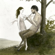nymph and satyr myth